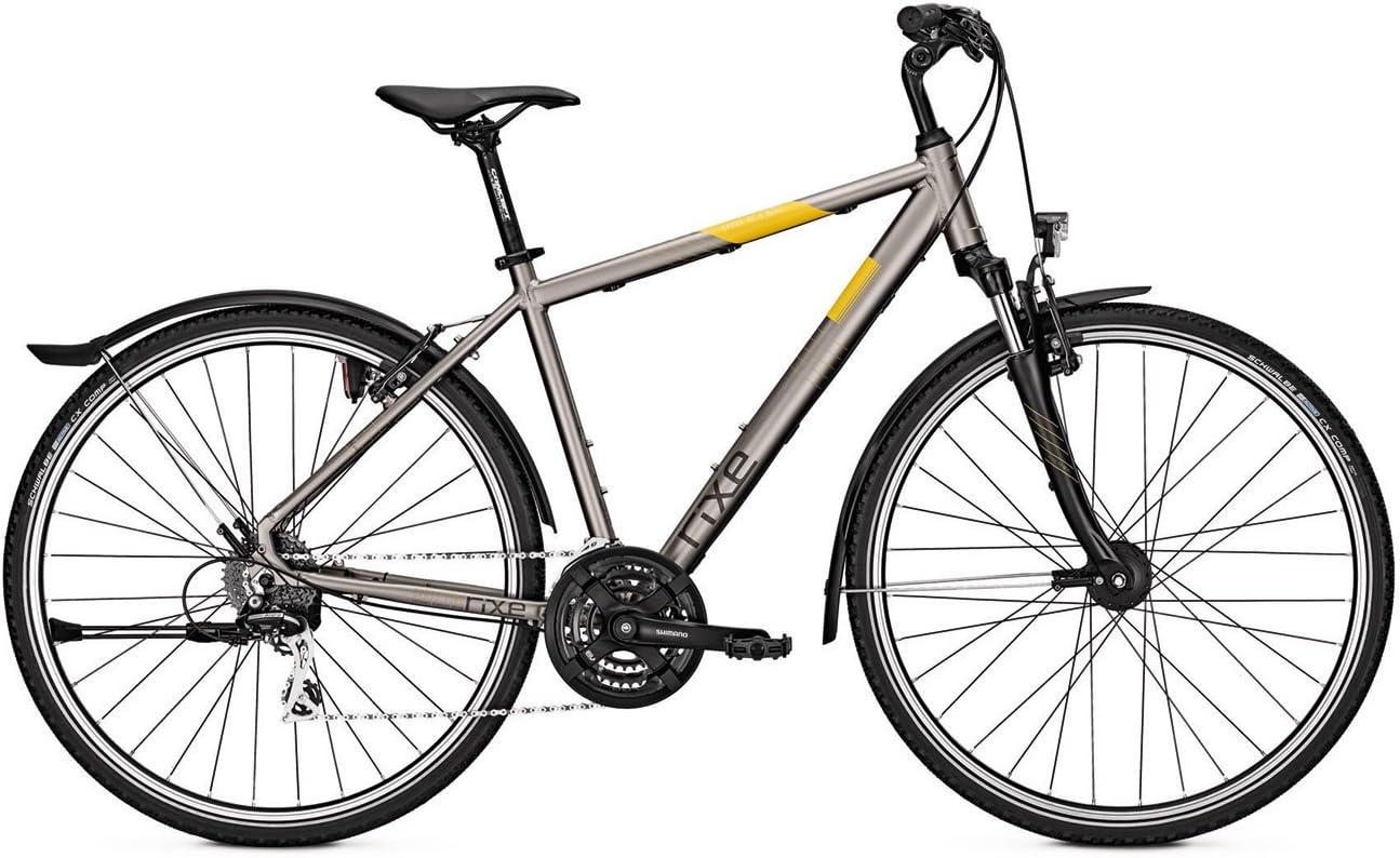 Rixe bicicleta Cross XC 5.0 Street (2017) – Cross Bike Cadena de 28 pulgadas, 24 marchas, Shimano dinamo de buje – Gris, Carbonitegrey matt: Amazon.es: Deportes y aire libre