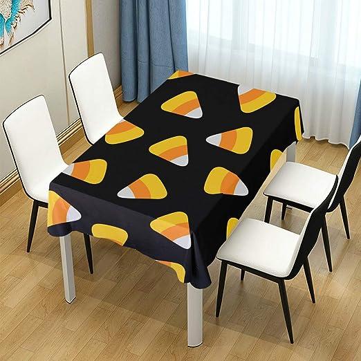 DXG1 Mantel para Mesa de Halloween, Color Negro, para decoración ...