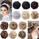 Real Fashion Hair Extensions Hairpiece Hair Rubber Scrunchie Scrunchy Updos VOLUMINOUS Curly Messy Bun