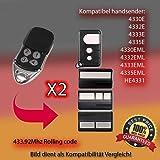 X2 4330E , 4332E, 4333E , 4335E,4330EML, 4332EML , 4333EML , 4335EML,HE4331 Kompatibel handsender ersatz