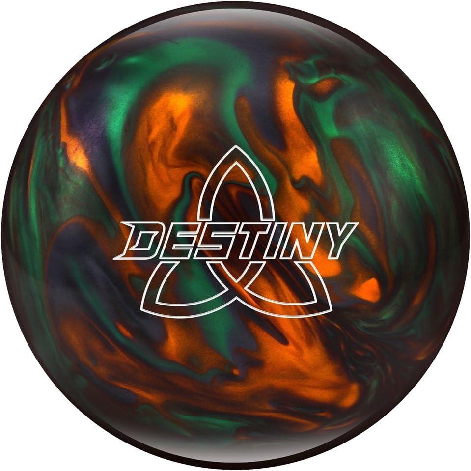 Ebonite DestinyパールBowling ball-グリーン/オレンジ/煙  11lbs