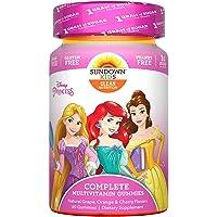 Sundown Kids Disney Princess Complete Multivitamin, 60 Gummies