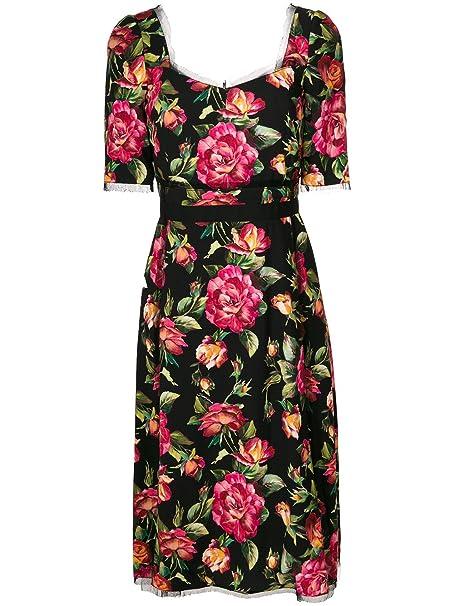 Dolce E Gabbana Vestito Donna F65x1tfsrifhne10 Viscosa Multicolor  Amazon.it   Abbigliamento 8916a39833f