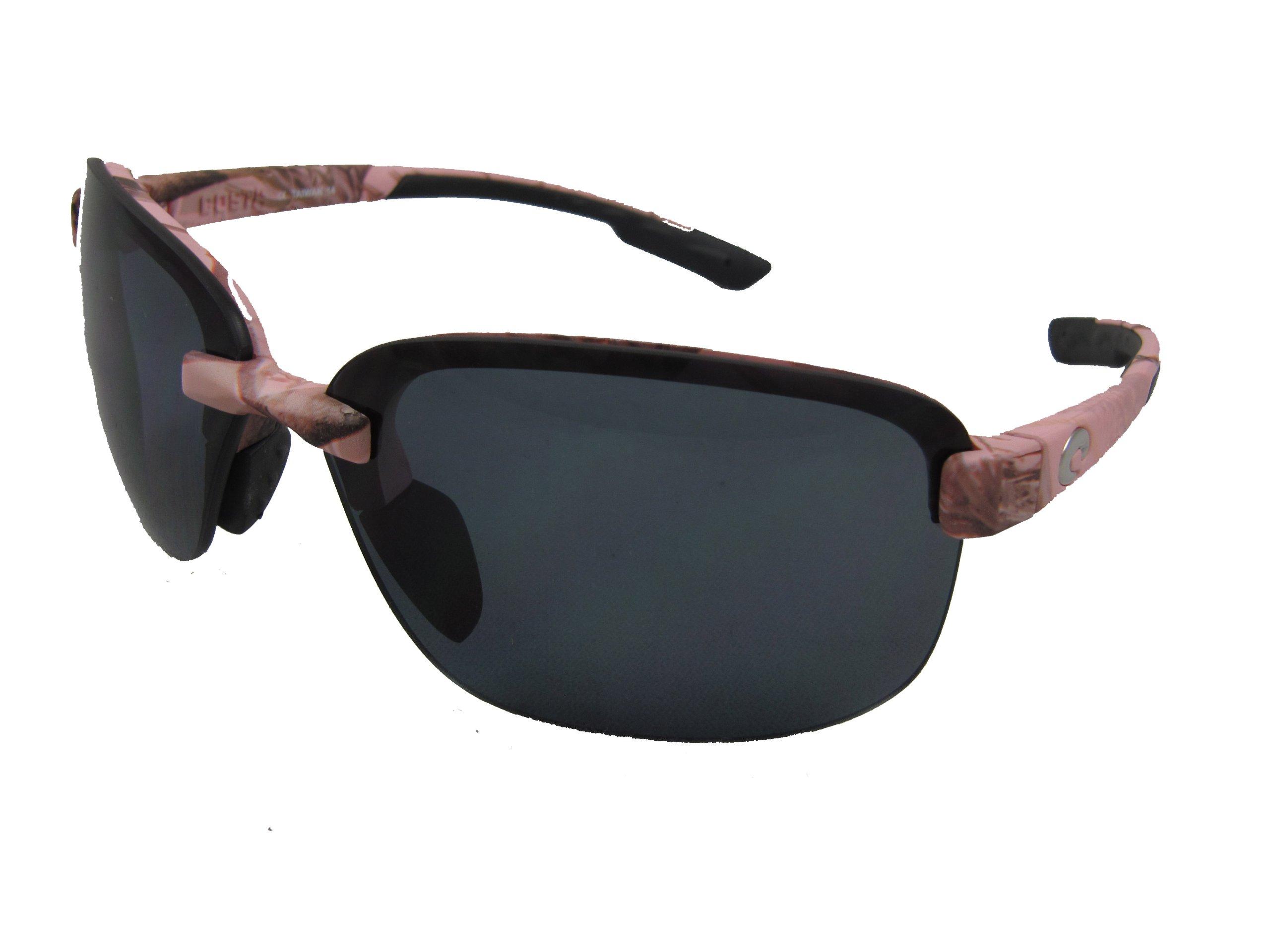 Costa Del Mar Austin Adult Polarized Sunglasses, Realtree AP Pink/Gray 580Plastic