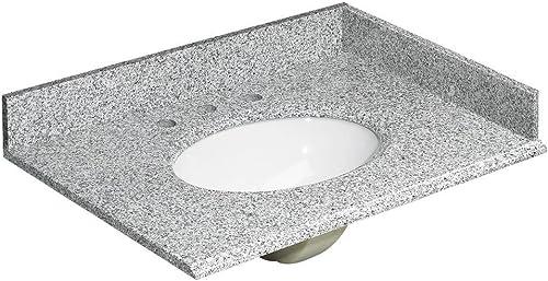 Foremost HG31228RG Foremost Heritage Granite Vanity Top, 31 , Rushmore Grey Pack of 4
