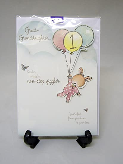 Amazon Hallmark Age 1 Great Granddaughter 1st Birthday