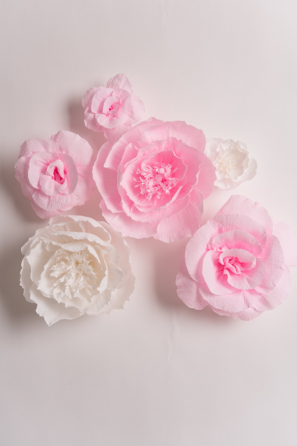 Handcrafted-FlowersLarge-Crepe-Paper-FlowersPink-and-White-flower-Set-Of-6For-Wedding-Backdrop-Baby-Nursery-Home-Decor-Birthday-Party-Photo-BackdropNursery-WallArchway-DecorEvent-Decorations