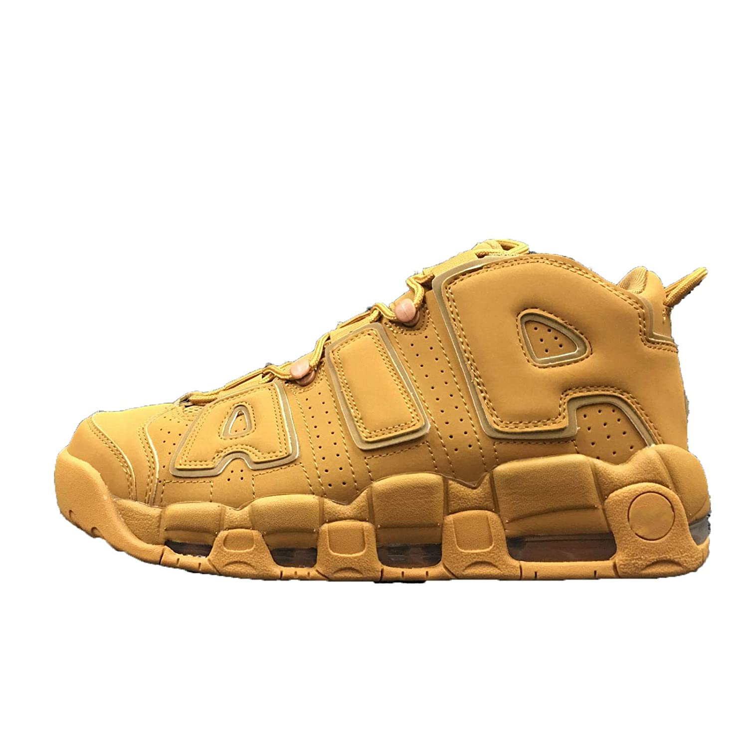 info for 20aac 872ee Air More  96 QS Homme Chaussures Basketball Fitness Femme Femme Femme  Sneakers 42 EU Jaune Foncé f8cce4