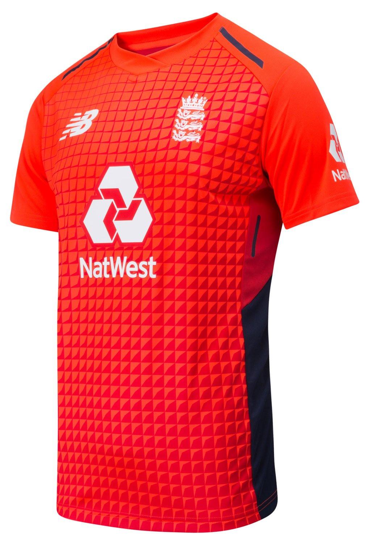 5bfb08bcf New Balance England T20 Replica Junior Cricket Shirt (2018) - Age 10 ...