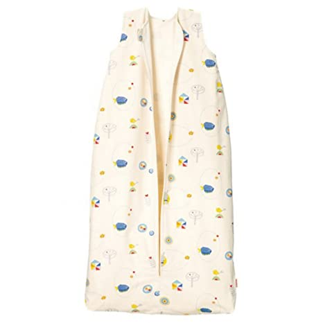 Cotonea Saco de dormir infantil con osito de peluche Forro Diseño Meister Conejo, Größe: