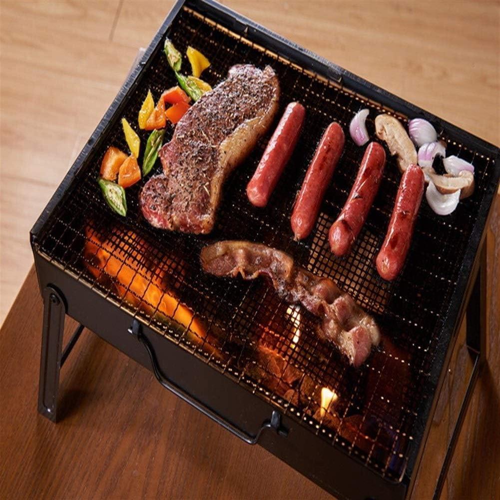 2pc Antiadhésif Barbecue Griller Tapis Forme Haute Grille De Sécurité BBQ Mat Avec Résistance À La Chaleur 30x40x0.2cm For Extérieur Heat-resistant (Color : G215119B) G215119b