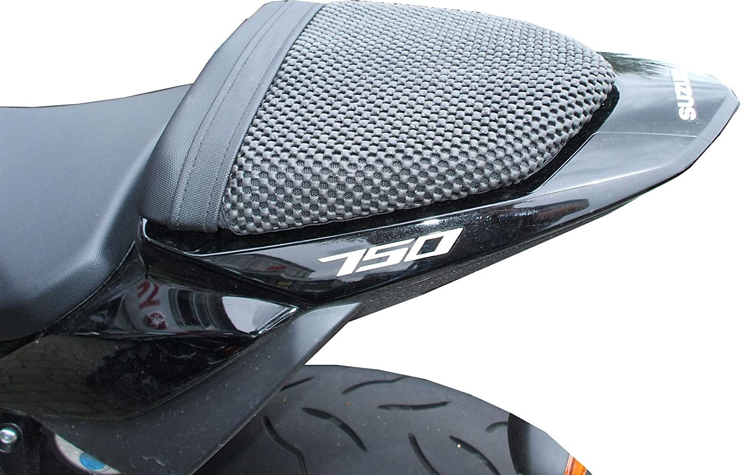 SUZUKI GSR 750 (2011-2016) TRIBOSEAT COPRISELLA PASSEGGERO ANTISCIVOLO NERO ADVANCED SEATING TECHNOLOGY LIMITED