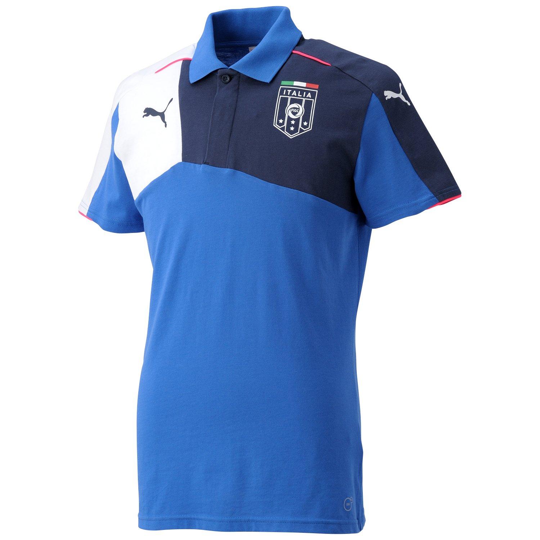 (プーマ) PUMA サッカー FIGCイタリア スタジアム ポロシャツ 747000 [メンズ] B00SIQVE3A  チームパワーブルー/ピーコート 日本 S-(日本サイズS相当)
