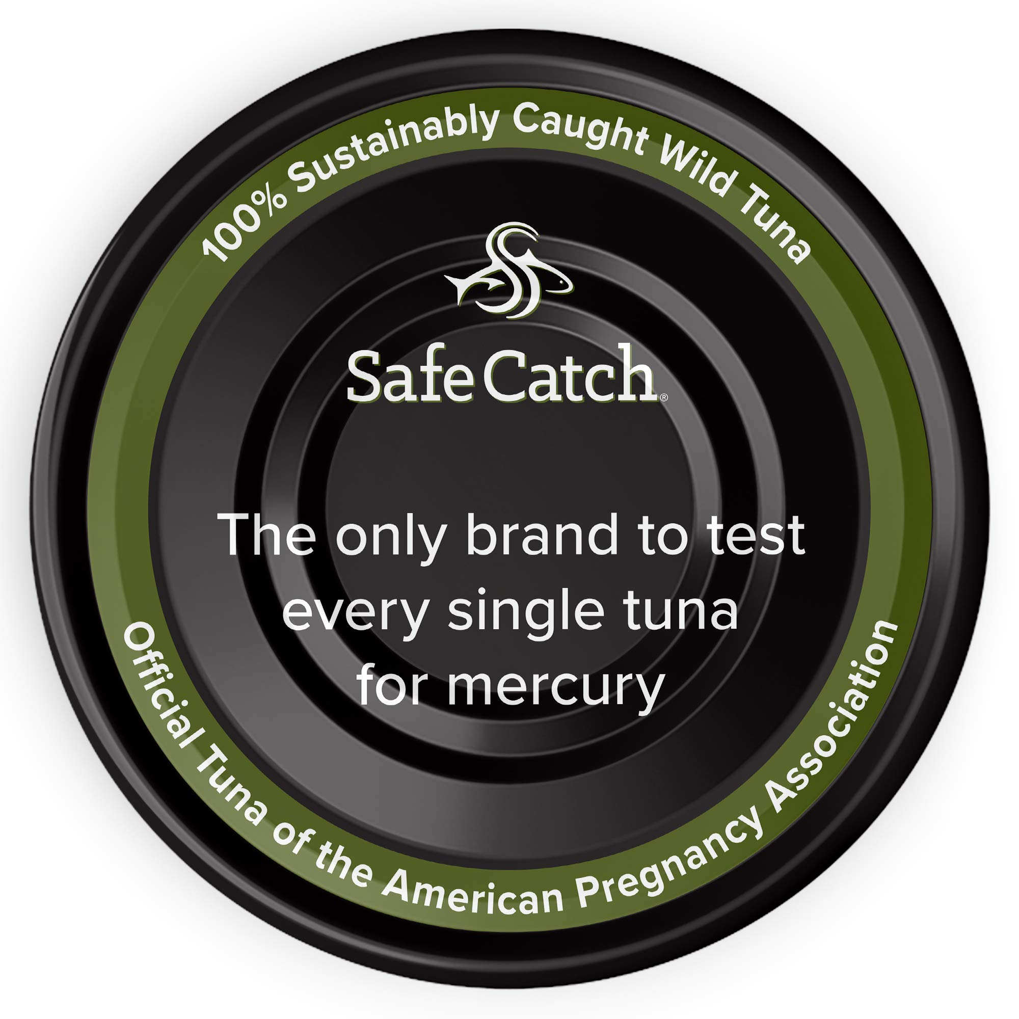 Safe Catch Ahi, Lowest Mercury Solid Wild Yellowfin Tuna Steak, 5 oz Can. The Only Brand to Test Every Tuna for Mercury (6 Pack in Avocado Oil) by Safe Catch (Image #3)