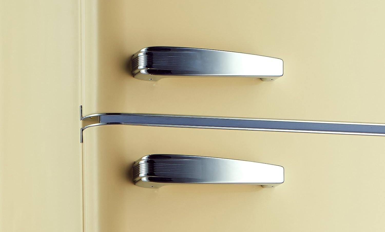 Retro Kühlschrank Griff : Kühlschrank mit gefrierfach retro kg creme a amazon