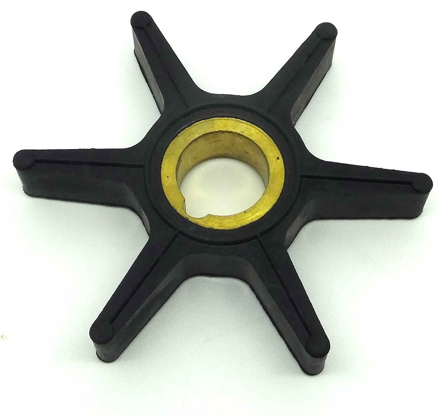 ConPus Boat Motor Water Pump Impeller 47-85089-3 47-85089-10 18-3057 for Mercury Mariner Chrysler Force 18HP 20HP 25HP 30HP 40HP 45HP 50HP 75HP outboard motors