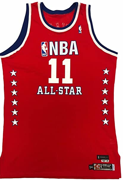promo code 601a6 96fa0 Yao Ming Game Issued Pro Cut Jersey 2003 NBA All-Star Jersey ...