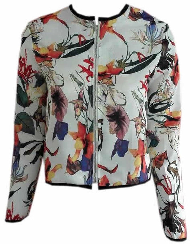 Binn Women's Printed Ethnic Quilted Lightweight Jackets