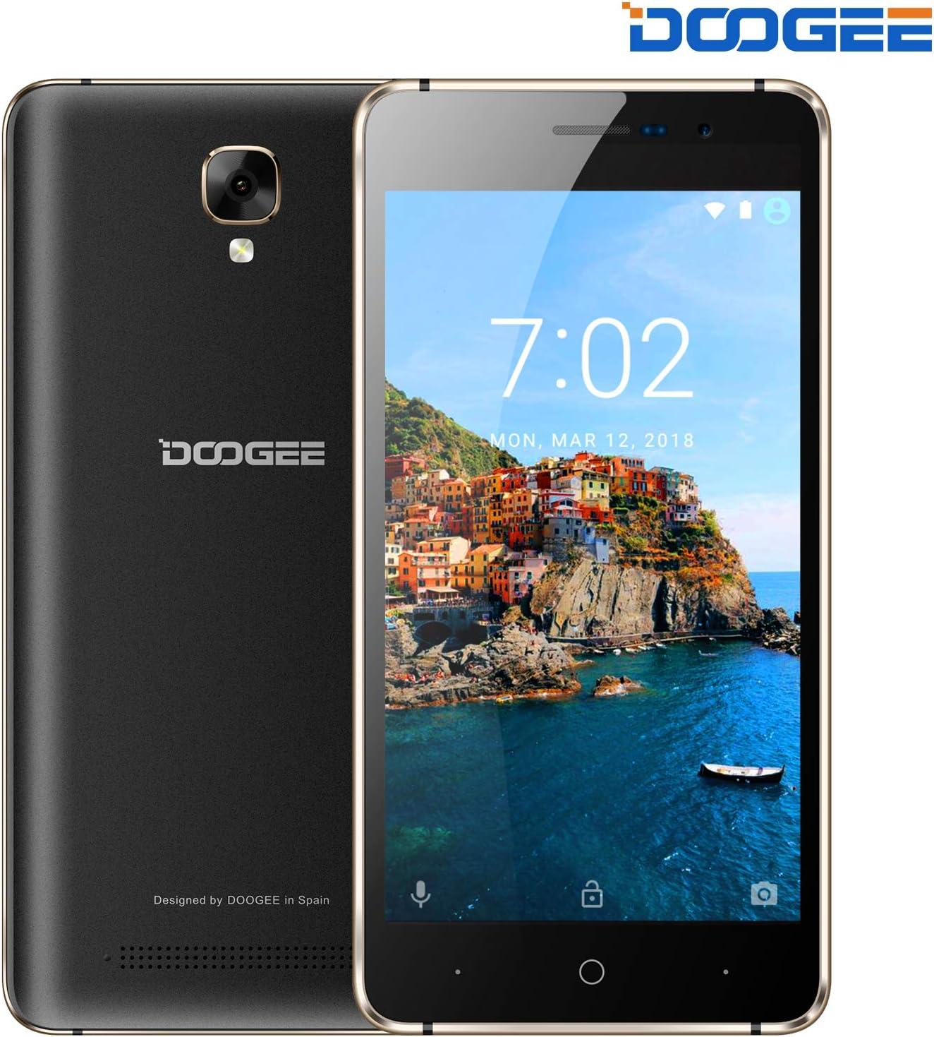 DOOGEE X10S Móviles y Smartphones Libres Android 8.1, 5.0 Pulgadas ...