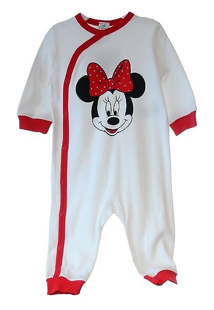 Original von Disney - Pelele - para bebé niño Blanco/Rojo 50 cm: Amazon.es: Ropa y accesorios
