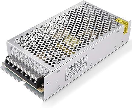 GHB Transformador Interruptor Transformador de Potencia Transformador de Voltaje Fuente de Alimentación para Tira de LED AC 110V / 220V a 12V DC 15A 180W: Amazon.es: Bricolaje y herramientas
