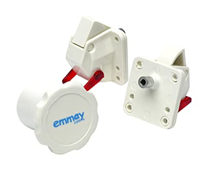 Emmay Care seguridad whatlock 2 cerraduras 1 Clave
