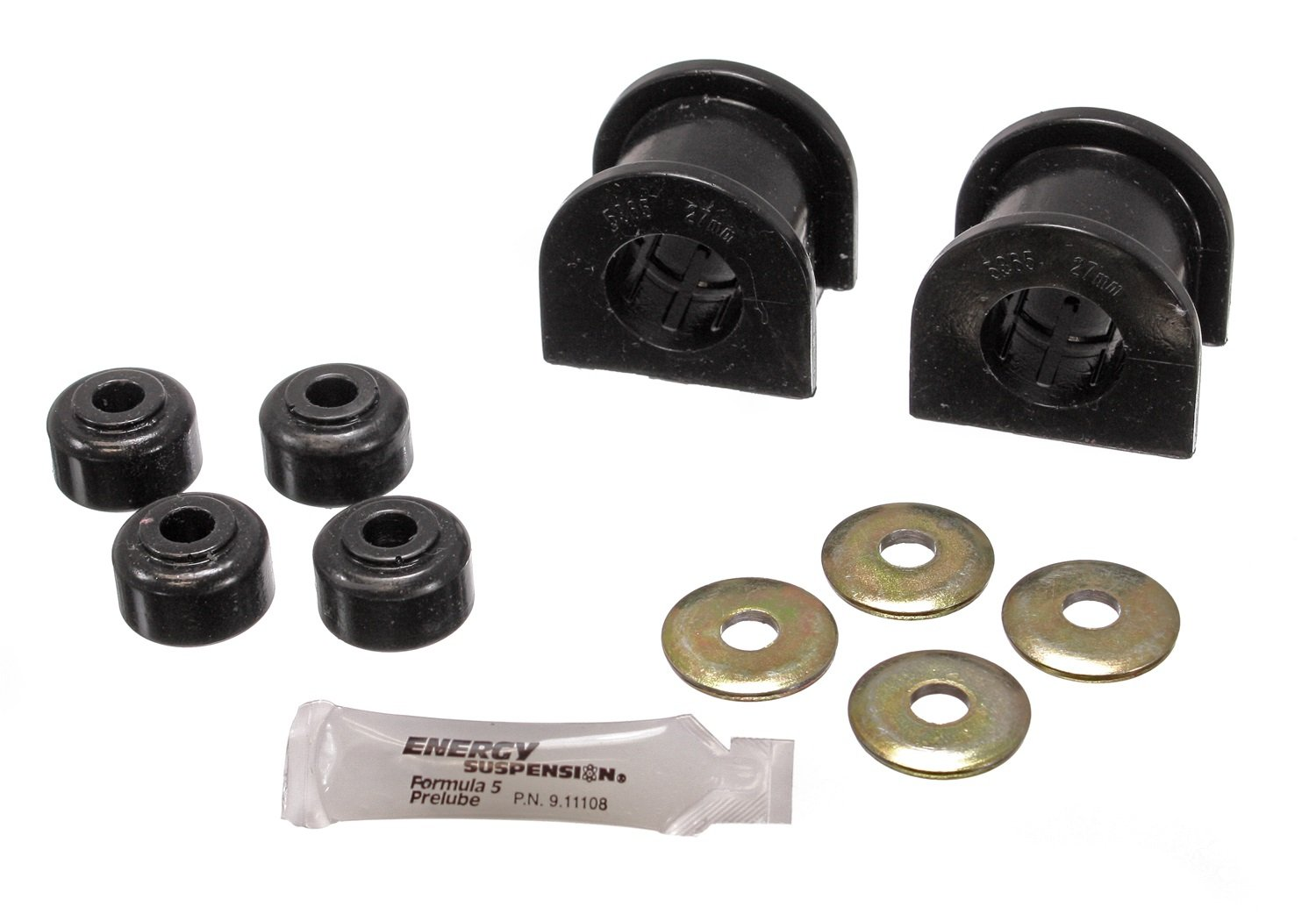 Energy Suspension 8.5118G 27mm Front Sway Bar Bushing Set for Toyota