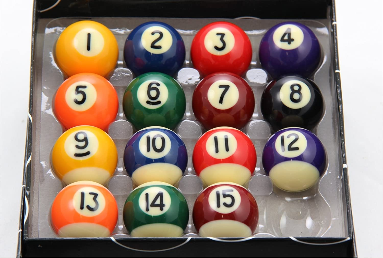Only Sports Gear Powerglide Stripes And Spots Standard Pool Balls All Sizes 16 Piece ***New