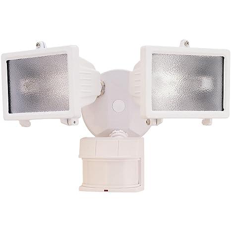 heath zenith hz 5512 wh dualbrite 150 watt motion sensing halogen rh amazon com Heath Zenith Motion Heath Zenith Dual Brite