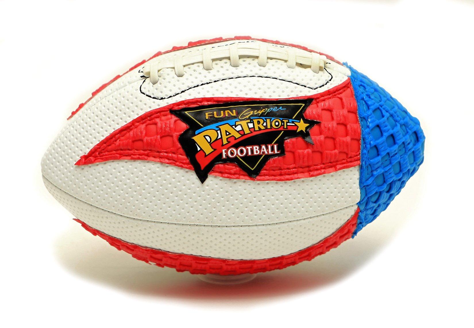 Fun Gripper 8.5 Patriot Football by: Saturnian I P.E Supplier