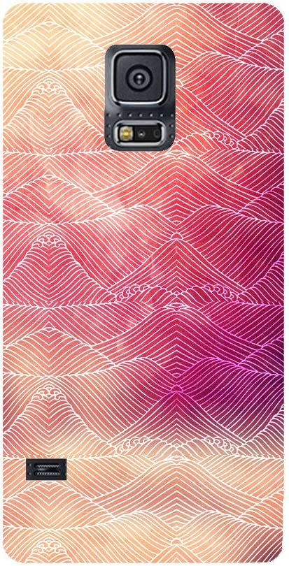 Skintice Designer Back Cover with Direct 3D Sublimation Printing for Samsung Galaxy S5 Mobile Accessories