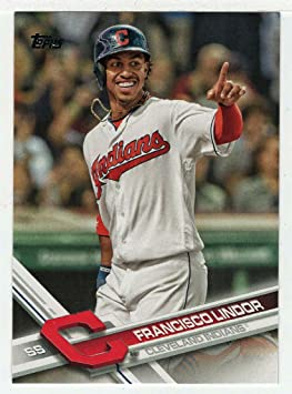 Francisco Lindor Baseball Card 2017 Topps 119 Mt