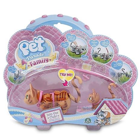 Pet Parade - Mama con su Cachorro - Gatos Marrones