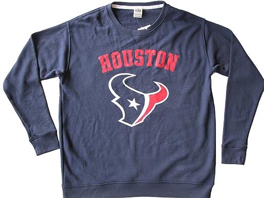 Hot Victoria's Secret PINK Houston Texans NFL Pullover Sweatshirt (Small