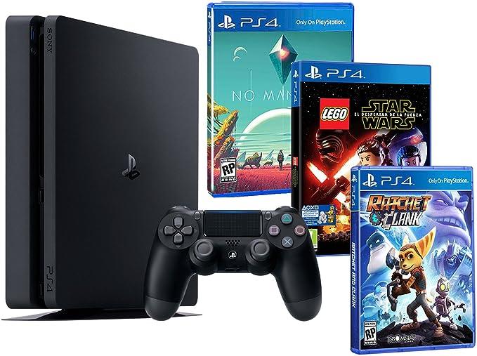 Playstation 4 Consola PS4 Slim 500Gb Pack Infantil 3 Juegos - Lego ...