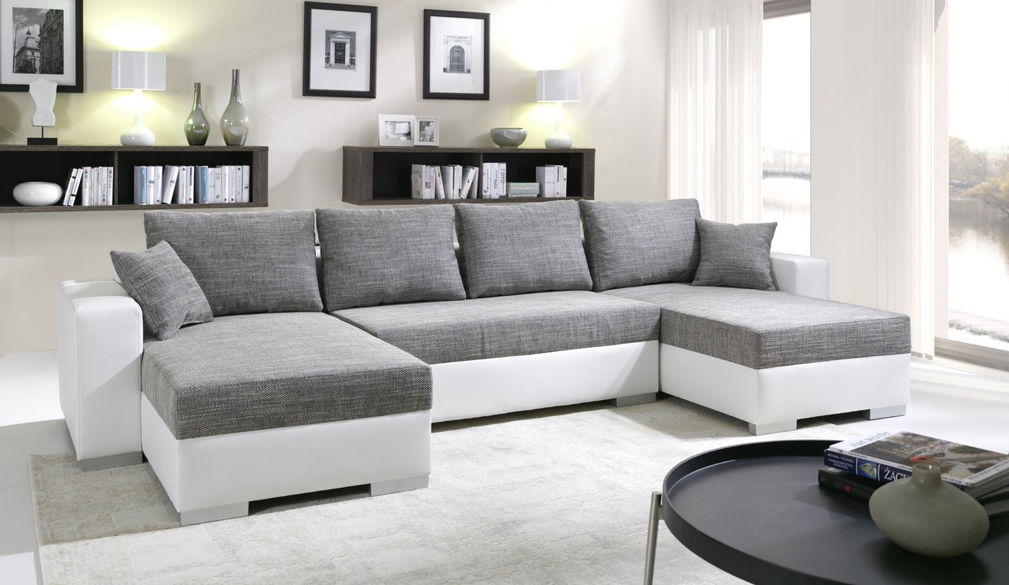 Sofa Couchgarnitur Couch Sofagarnitur TIGER 4 U Polstergarnitur ...