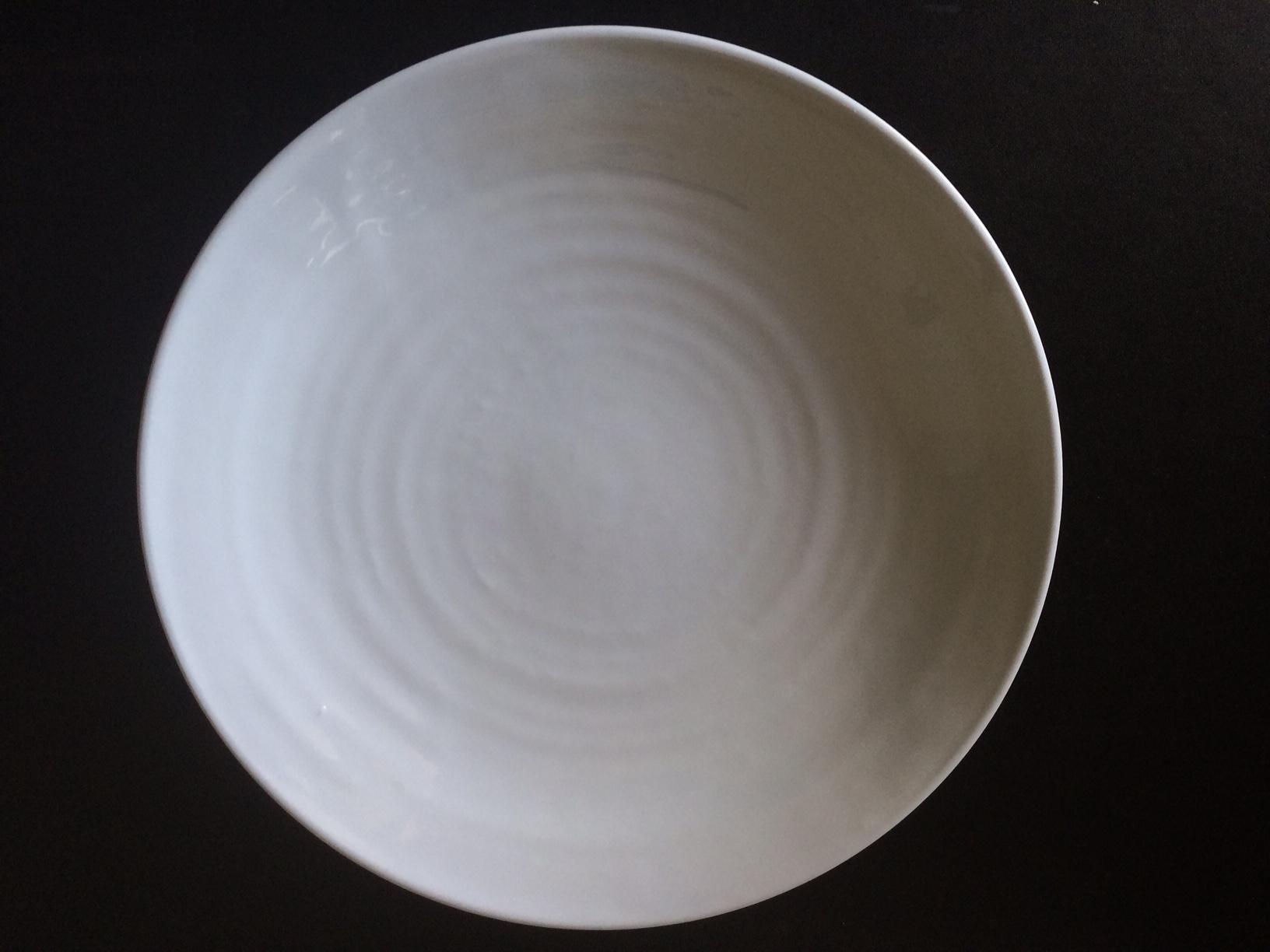 Lucky Star Melamine Round Dinner Serving Plate, White, 12-pcs per case (1 dozen) (10.5'')