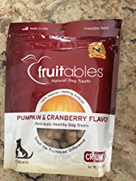 Amazon.com : Fruitables Pumpkin & Apple Crunchy Dog Treats