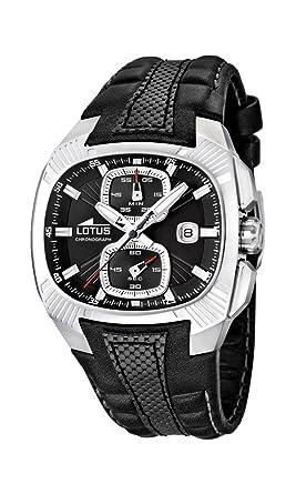 Lotus 15753/2 - Reloj analógico de Cuarzo para Hombre, Correa de Cuero Color