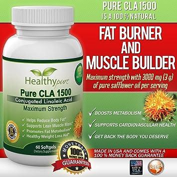Amazon Com Pure Cla 1500 Extra Strength Cla Pills From Safflower
