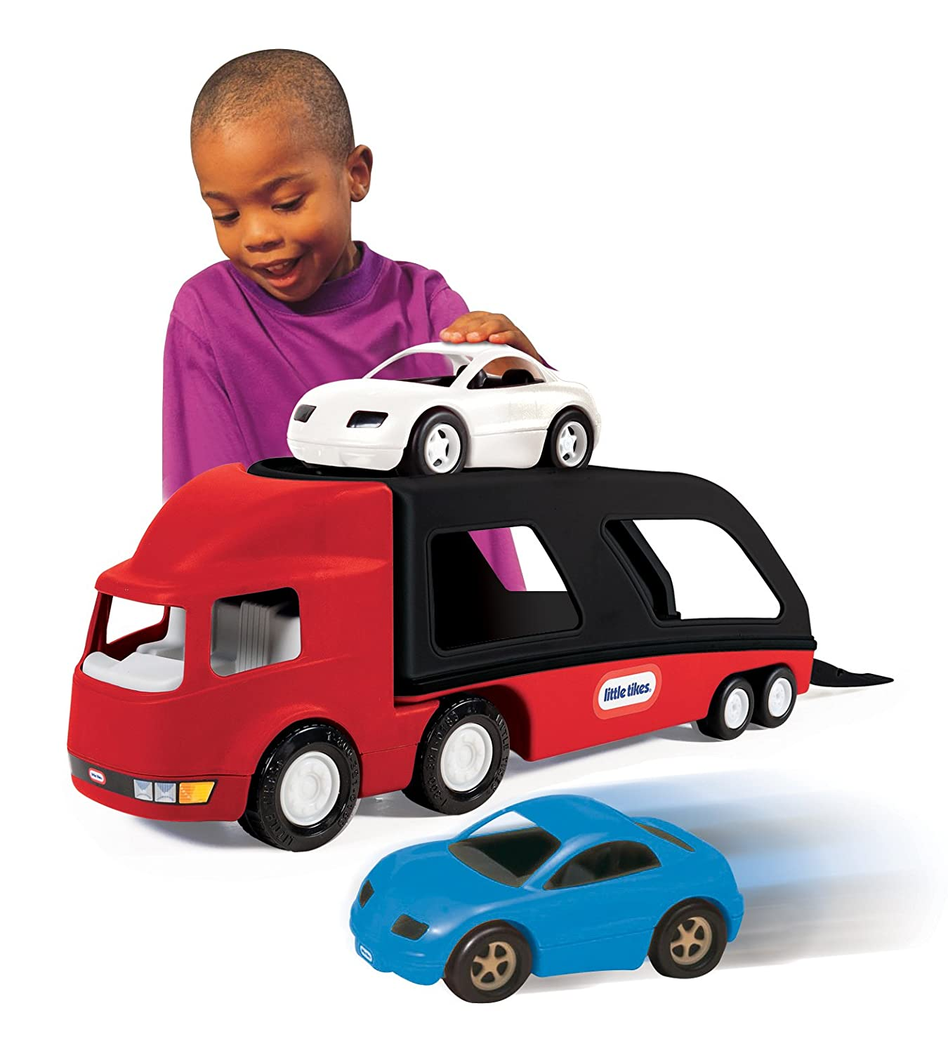 Amazon Little Tikes Car Carrier Red Toys & Games