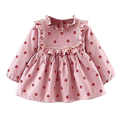 95a9cc6a7264 Boomboom Baby'S Clothing Toddler Baby Girl Strawberry Print Clothing ...