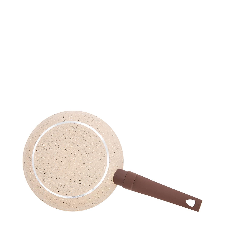 San Ignacio SARTEN 28cm Soft Touch Beige Veneto, Aluminio, Crema y marrón, 28 cm: Amazon.es: Hogar