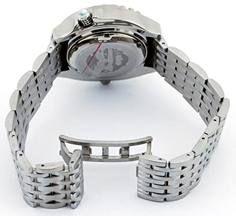 Amazon.com: Corvette CR285RD Mens Z06 Collection Stainless Steel Red Dial Swiss Dive Watch: Watches