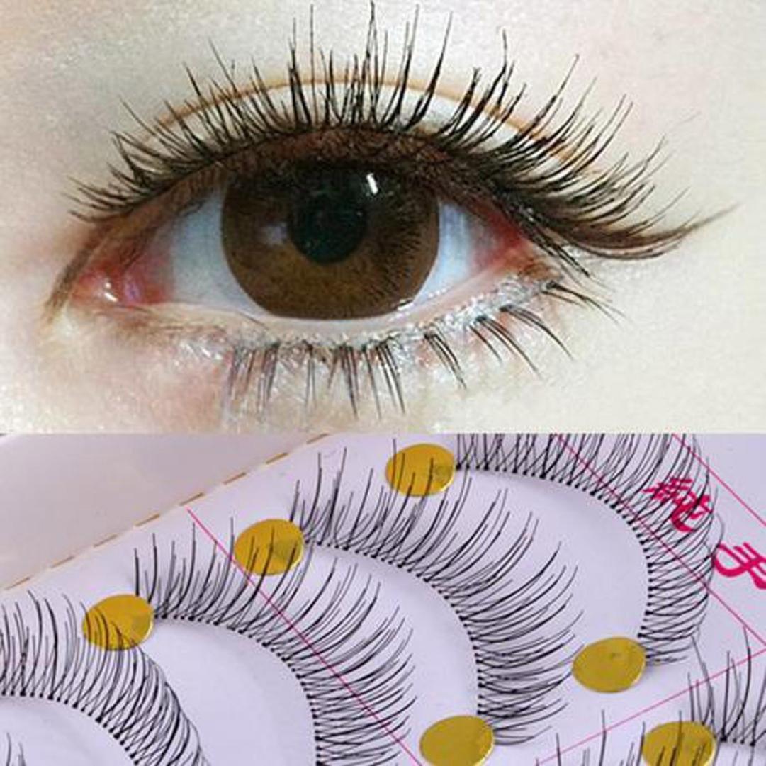 False eyelashes, Lookatool Big sale 10 Pair/Lot Crisscross False Eyelashes Lashes Voluminous Hot Eye Lashes