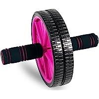 Tone Fitness Rueda de Rodillo para Abdominales de, para Entrenamiento de Abdominales, Equipo de Ejercicio y Accesorios