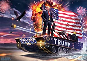 """Donald Trump Poster 12"""" x 18"""" Multicolour"""