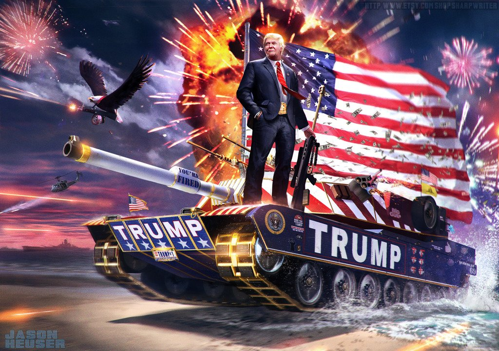 Remarkable Posters President Donald Trump 12 x 18 Inch Poster Ultra HD Multicolour Unframed Rolled Print Great Wall Decor