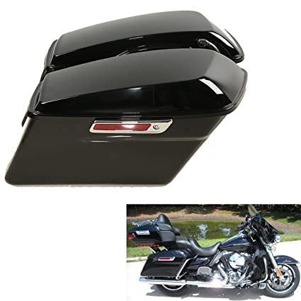 Frames & Fittings Motorcycyle Saddlebag Latch Cover For Harley Touring Electra Street Glide 1993-2013 Touring Street Glide Road King Flh Flt Various Styles