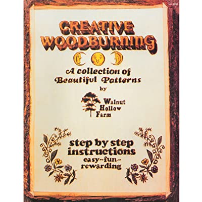 Walnut Hollow Creative Woodburning Book: Arts, Crafts & Sewing